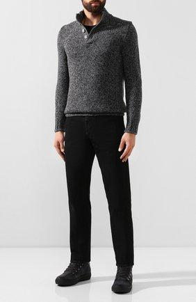 Мужские кожаные ботинки BOGNER темно-серого цвета, арт. 193-A543/ANCH0RAGE M 1C | Фото 2