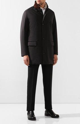 Пальто с меховой подкладкой | Фото №2