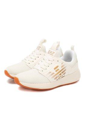 Детские кроссовки EA 7 белого цвета, арт. XSX009/X0T18 | Фото 1