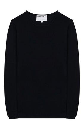 Детский шерстяной пуловер DESIGNERS, REMIX GIRLS темно-синего цвета, арт. 13834 | Фото 1