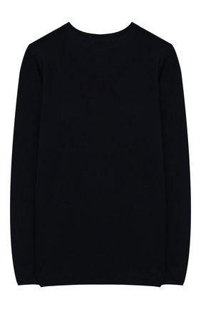 Детский шерстяной пуловер DESIGNERS, REMIX GIRLS темно-синего цвета, арт. 13834 | Фото 2