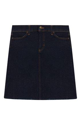 Детская джинсовая юбка DESIGNERS, REMIX GIRLS синего цвета, арт. 14927 | Фото 1