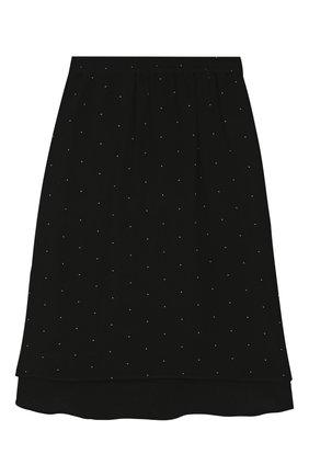 Детская юбка DESIGNERS, REMIX GIRLS черного цвета, арт. 15344 | Фото 1