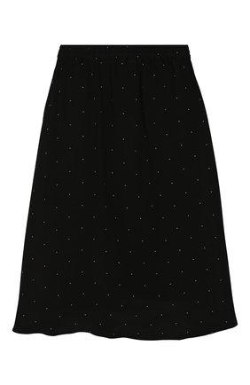 Детская юбка DESIGNERS, REMIX GIRLS черного цвета, арт. 15344 | Фото 2