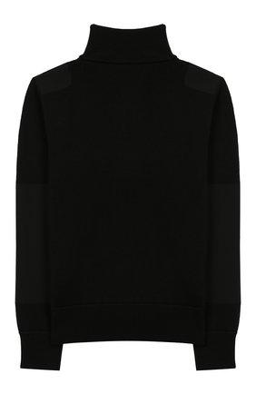 Детский шерстяной свитер MONCLER ENFANT черного цвета, арт. E2-954-92000-05-A9155/8-10A | Фото 2
