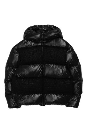 Пуховая куртка с капюшоном Elbe | Фото №1