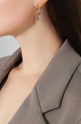 Женские серьги amer ISABEL MARANT серебряного цвета, арт. BL0852-19A028B | Фото 2