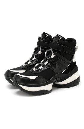 Текстильные кроссовки Olympia | Фото №1