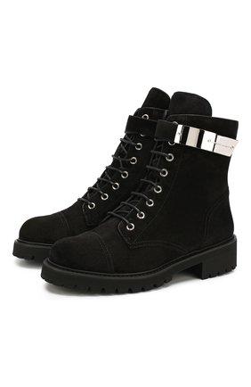 Замшевые ботинки Alexa   Фото №1