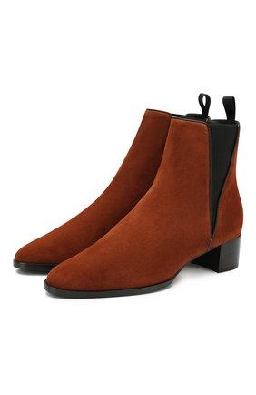 Замшевые ботинки Judy | Фото №1