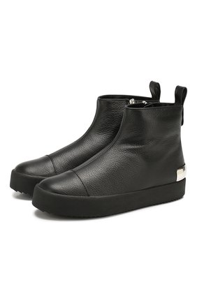 Кожаные ботинки Tracy Steel | Фото №1