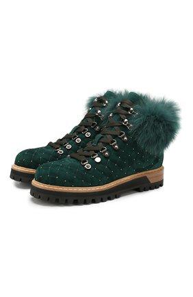 Замшевые ботинки St. Moritz | Фото №1