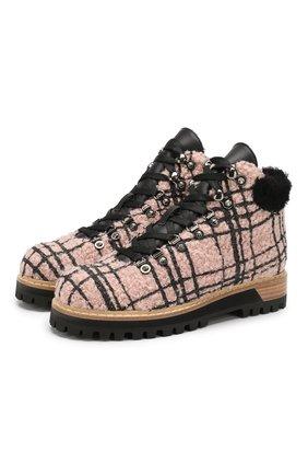 Текстильные ботинки St. Moritz | Фото №1