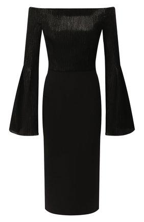 Женское платье ROLAND MOURET черного цвета, арт. AW19/S0794/F0392 | Фото 1