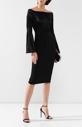 Женское платье ROLAND MOURET черного цвета, арт. AW19/S0794/F0392 | Фото 2