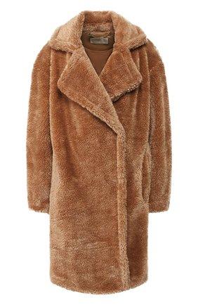 Женское пальто MICHAEL MICHAEL KORS коричневого цвета, арт. 77T4264M52 | Фото 1