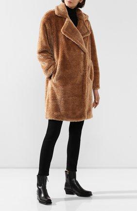 Женское пальто MICHAEL MICHAEL KORS коричневого цвета, арт. 77T4264M52 | Фото 2