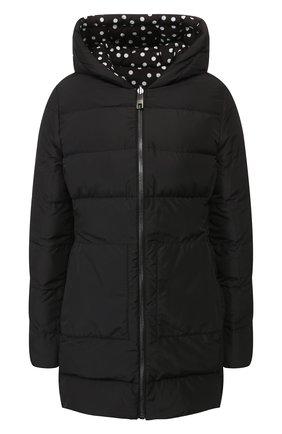 Женский двусторонняя куртка DOLCE & GABBANA черно-белого цвета, арт. F9F45T/G7SZS | Фото 1