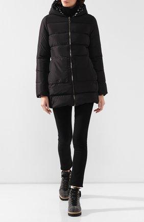 Женский двусторонняя куртка DOLCE & GABBANA черно-белого цвета, арт. F9F45T/G7SZS | Фото 2