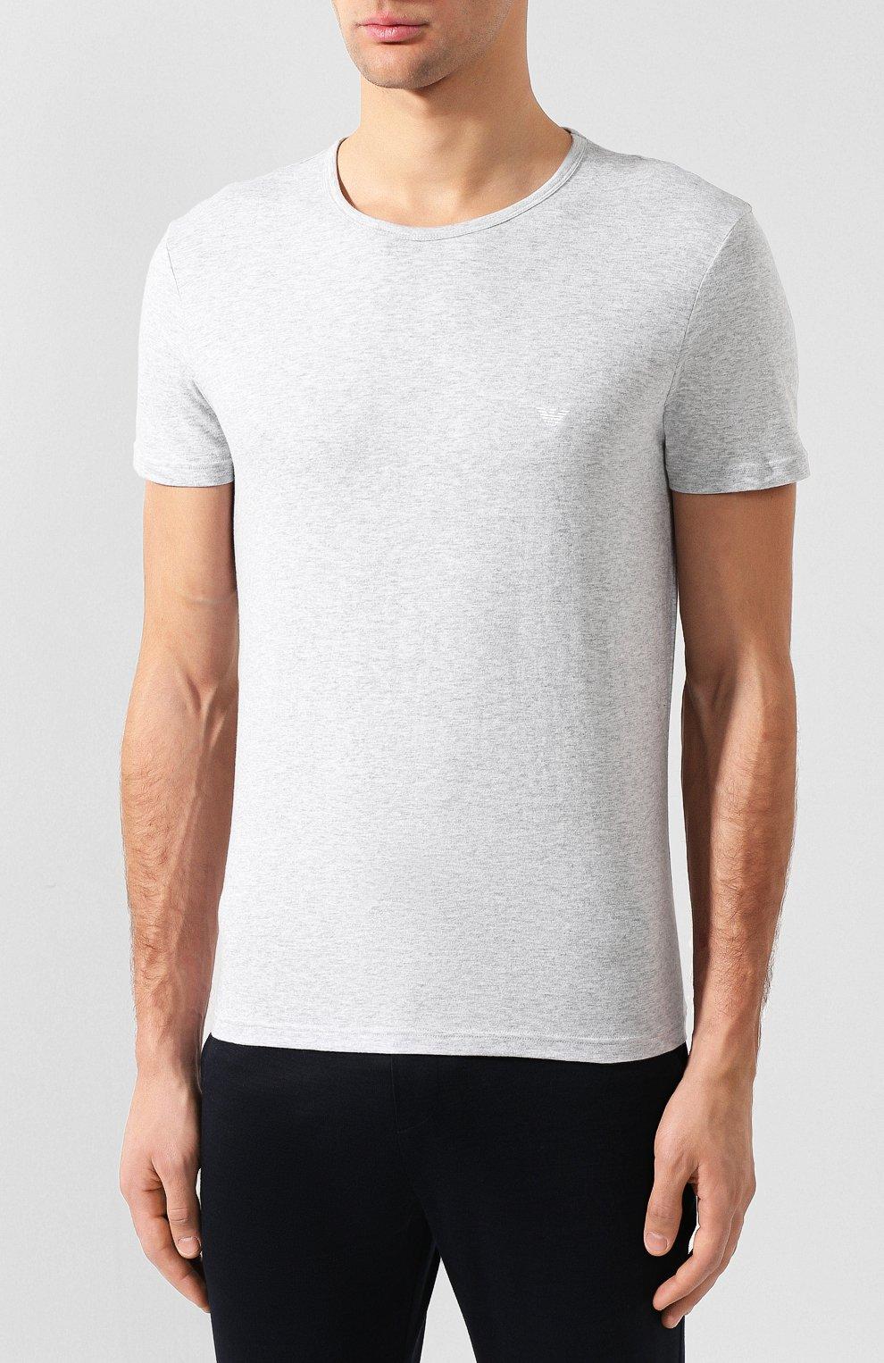 Комплект из двух хлопковых футболок   Фото №3
