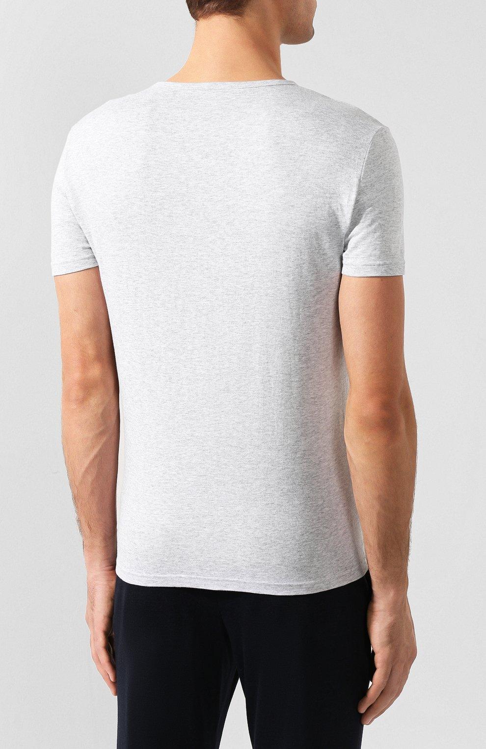 Комплект из двух хлопковых футболок   Фото №4