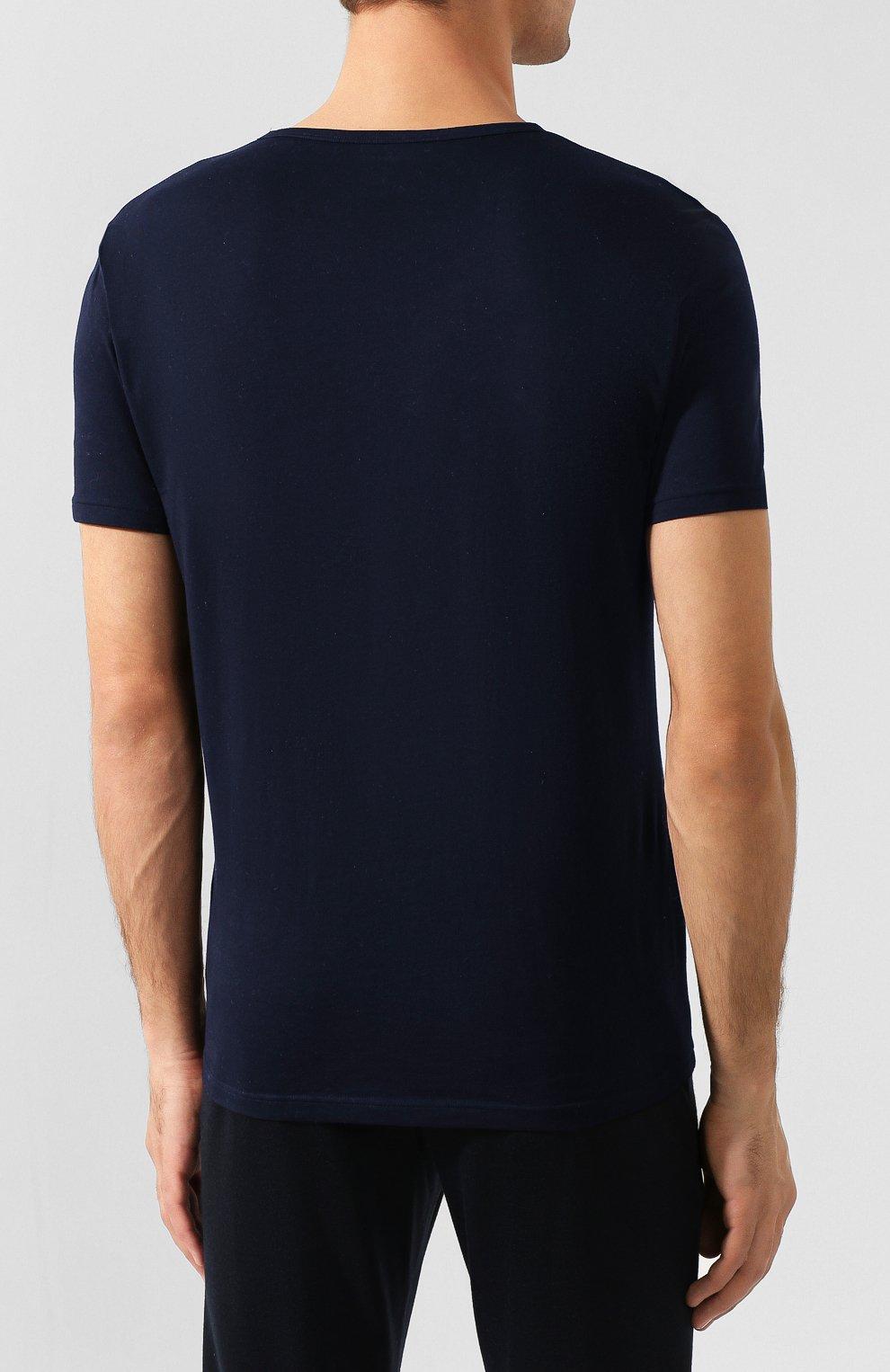 Комплект из двух хлопковых футболок   Фото №6