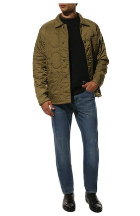 Мужские кожаные кеды DOUCAL'S черного цвета, арт. DU1773GENTUM019NN00 | Фото 2