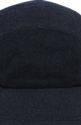 Мужской кашемировая бейсболка SVEVO темно-синего цвета, арт. 01041SA19/MP01/2 | Фото 3