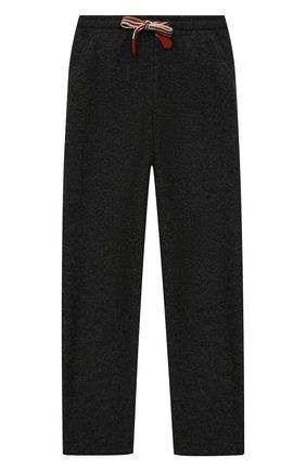 Детские кашемировые брюки LORO PIANA темно-серого цвета, арт. FAI7737 | Фото 1