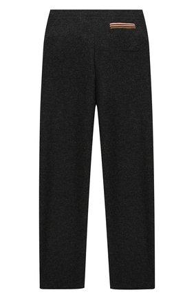 Детские кашемировые брюки LORO PIANA темно-серого цвета, арт. FAI7737 | Фото 2