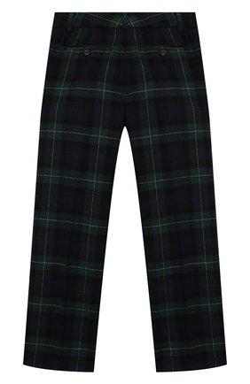 Детские шерстяные брюки POLO RALPH LAUREN черного цвета, арт. 323760256 | Фото 2