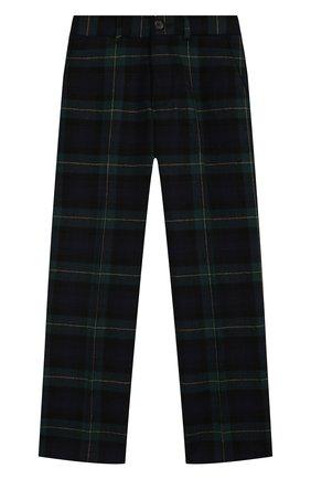 Детские шерстяные брюки POLO RALPH LAUREN черного цвета, арт. 322760256 | Фото 1