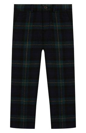 Детские шерстяные брюки POLO RALPH LAUREN черного цвета, арт. 321760256 | Фото 1