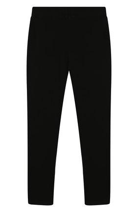 Детского хлопковые брюки POLO RALPH LAUREN черного цвета, арт. 313762314 | Фото 2