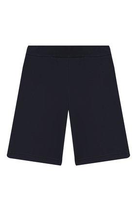 Детские хлопковые шорты EA 7 темно-синего цвета, арт. 6GBS51/BJ05Z | Фото 2
