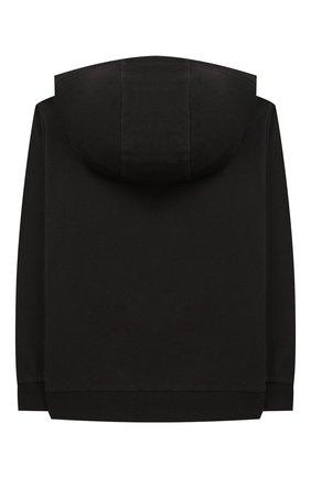 Детский хлопковая толстовка с капюшоном EA 7 черного цвета, арт. 6GBM51/BJ05Z | Фото 2