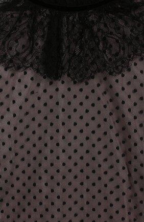 Детское платье ALBERTA FERRETTI JUNIOR черного цвета, арт. 021369 | Фото 3 (Рукава: Длинные; Случай: Вечерний; Материал внешний: Синтетический материал; Девочки Кросс-КТ: Платье-одежда; Материал подклада: Хлопок; Статус проверки: Проверена категория; Ростовка одежда: 10 - 11 лет | 140 - 146см, 12 лет | 152 см, 13 - 15 лет | 158 см, 8 лет | 128 см)