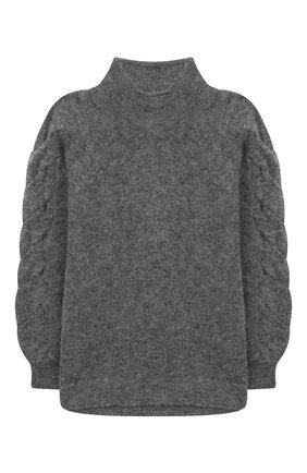 Детский свитер DESIGNERS, REMIX GIRLS серого цвета, арт. 15410 | Фото 1