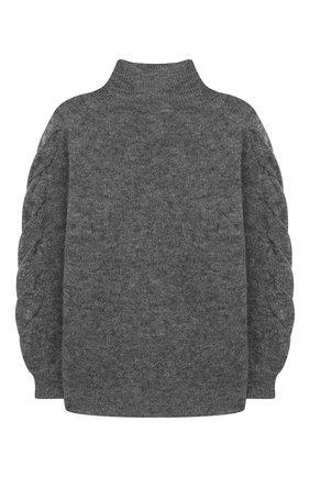 Детский свитер DESIGNERS, REMIX GIRLS серого цвета, арт. 15410 | Фото 2