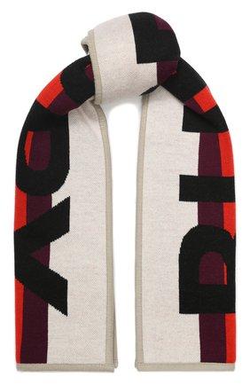 Детский шерстяной шарф BURBERRY красного цвета, арт. 8017797 | Фото 1