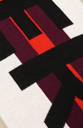 Детский шерстяной шарф BURBERRY красного цвета, арт. 8017797 | Фото 2