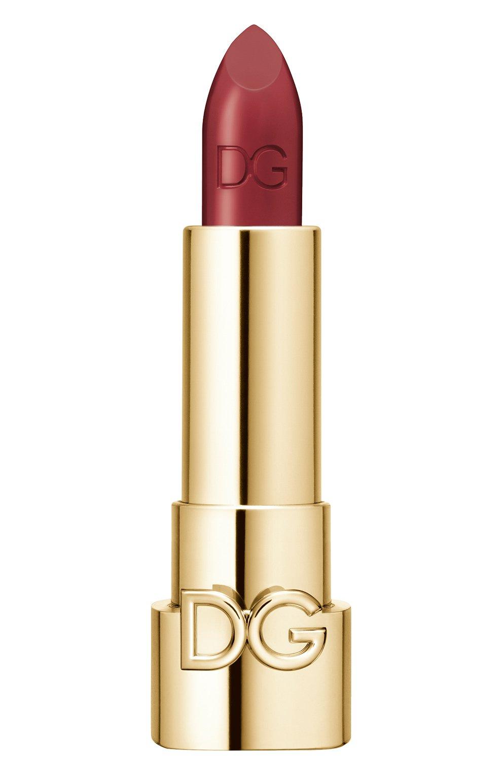 Женская губная помада the only one, оттенок 660 hot burgundy DOLCE & GABBANA бесцветного цвета, арт. 8554150DG   Фото 1