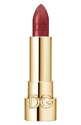 Женская губная помада the only one, оттенок 660 hot burgundy DOLCE & GABBANA бесцветного цвета, арт. 8554150DG | Фото 1