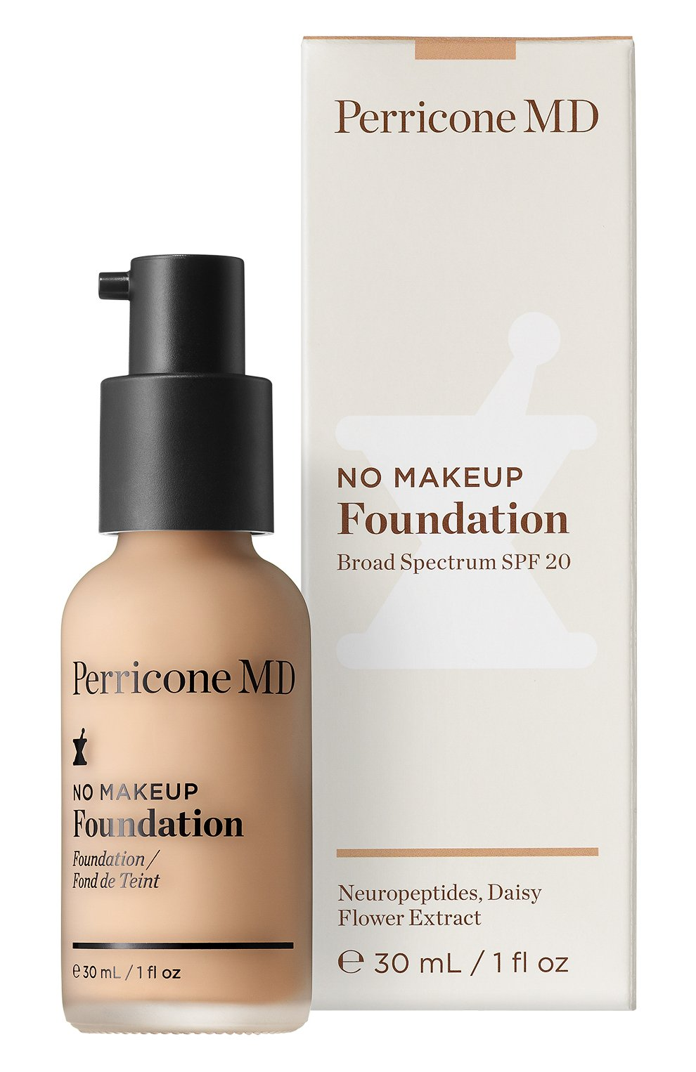 Тональная основа No Makeup Foundation SPF20, оттенок Ivory | Фото №1