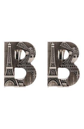Серьги -клипсы Paris | Фото №1