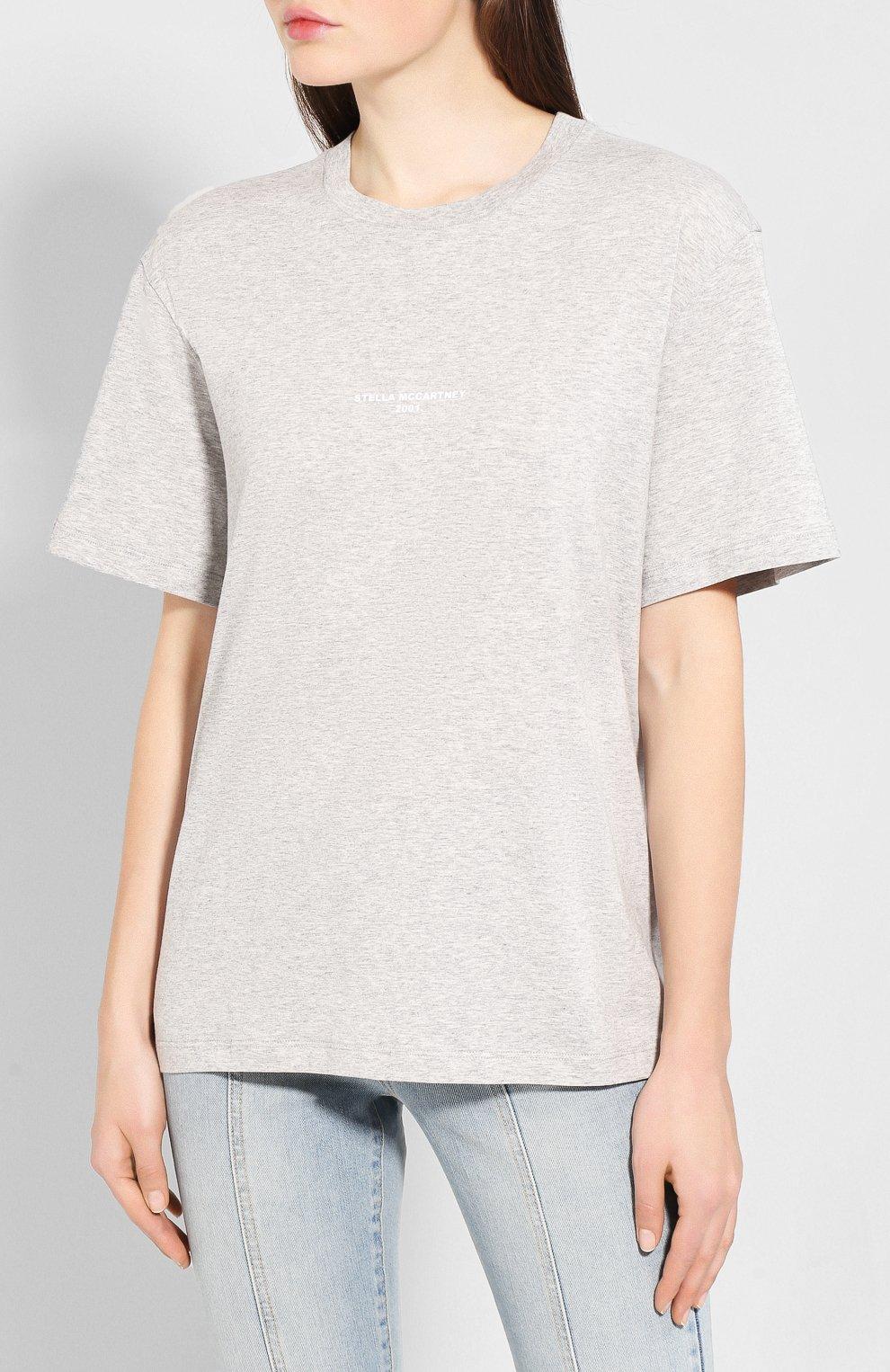 Хлопковая футболка   Фото №3