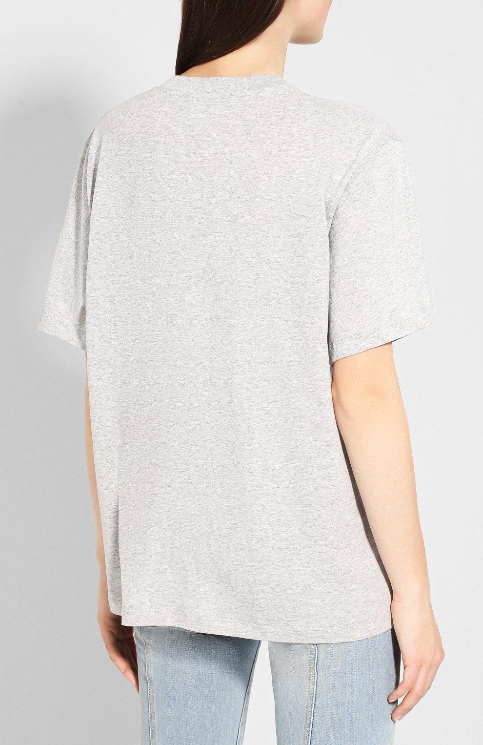 Хлопковая футболка   Фото №4