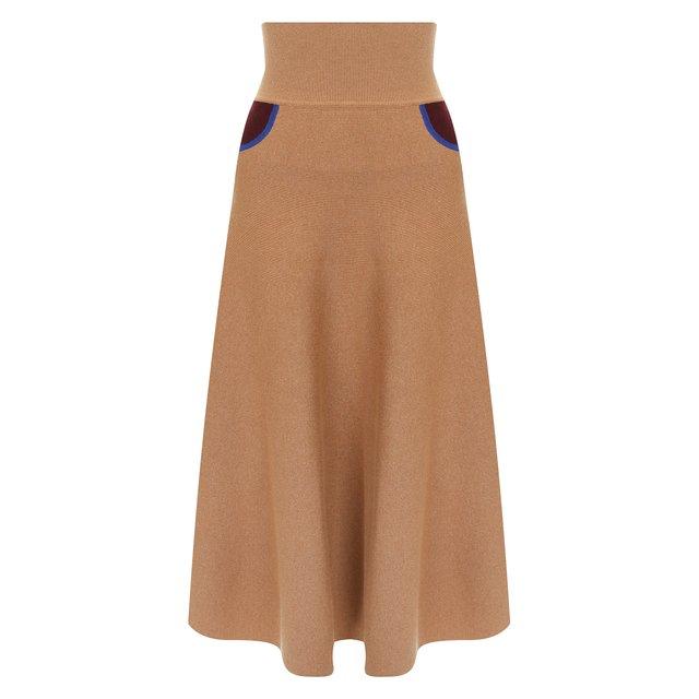 Кашемировая юбка Loewe