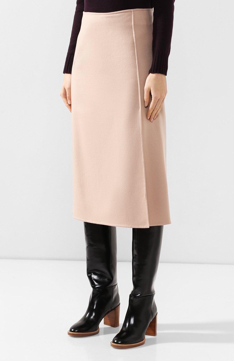 Кашемировая юбка   Фото №3