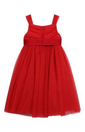 Детское платье DOLCE & GABBANA красного цвета, арт. L52DA0/HLMMR/8-14 | Фото 2